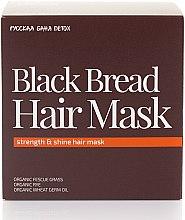 Parfumuri și produse cosmetice Mască pentru strălucirea și rezistența părului - Natura Siberica Fresh Spa Russkaja Bania Detox Black Bread Hair Mask