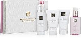 Parfumuri și produse cosmetice Set - Rituals The Ritual Of Sakura Renewing Treat (sh/foam/gel/50ml+b/scr/70ml+b/cr/70ml+hand/wash/110ml)