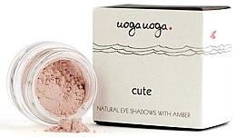 Parfumuri și produse cosmetice Farduri de ochi cu extract de chihlimbar - Uoga Uoga Natural Eye Shadow With Amber