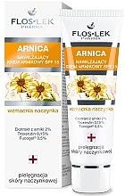 Parfumuri și produse cosmetice Cremă hidratantă pentru capilare dilatate Arnica SPF 15 - Floslek Moisturizing Arnica Cream SPF 15