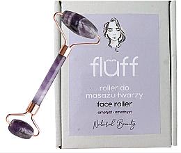 Духи, Парфюмерия, косметика Rolă pentru masaj facial Ametist - Fluff Face Roller Ametyst