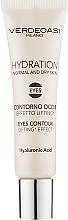 Духи, Парфюмерия, косметика Гель для кожи вокруг глаз с эффектом лифтинга - Verdeoasi Hydrating Eyes Contour Lifting Effect