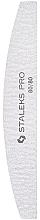 Parfumuri și produse cosmetice Pilă minerală, semilună NFB-41/3, 80/80 grit - Staleks Pro Expert