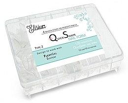 Parfumuri și produse cosmetice Șabloane pentru unghii - Elisium Quick Shape Nail Form Typ 2