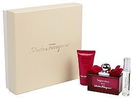 Parfumuri și produse cosmetice Salvatore Ferragamo Signorina Ribelle - Set (edp/100ml + edp/10ml + b/lot/50ml)