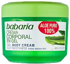 Parfumuri și produse cosmetice Gel natural regenerant pentru corp - Babaria Aloe Vera