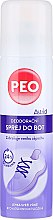 Parfumuri și produse cosmetice Deodorant pentru încălțăminte - Astrid Antibacterial Deodorizing Spray Peo Shoe