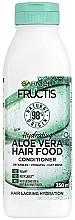 "Parfumuri și produse cosmetice Balsam hidratant pentru păr ""Aloe Vera"" - Garnier Fructis Aloe Vera Hair Food Conditioner"