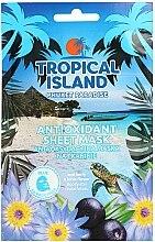 Parfumuri și produse cosmetice Mască de față - Marion Tropical Island Phuket Paradise Antioxidant Sheet Mask