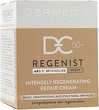 Parfumuri și produse cosmetice Cremă regeneratoare de noapte 50+ - Dermedic Regenist ARS 5 Retinolike Night Intensely Regenerating Repair Cream