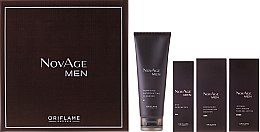 Parfumuri și produse cosmetice Set - Oriflame NovAge Men Set (gel/50ml + ser/50ml + gel/15ml + cleancer/125ml)