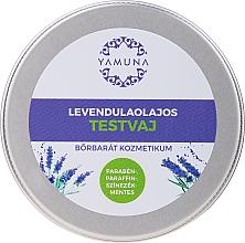 Parfumuri și produse cosmetice Ulei de lavandă pentru corp - Yamuna Lavender Oil Body Butter