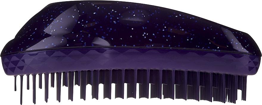 Perie de păr - Tangle Teezer The Original Purple Glitter Hair Brush — Imagine N4