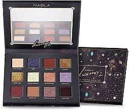 Parfumuri și produse cosmetice Paletă farduri de ochi - Nabla Dreamy 2 The Mystic Palette