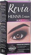 Parfumuri și produse cosmetice Henna în cremă pentru sprâncene - Revia Eyebrows Henna