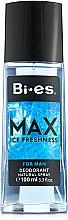Parfumuri și produse cosmetice Bi-Es Max - Deodorant spray parfumat