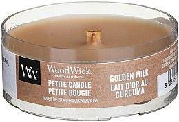 Parfumuri și produse cosmetice Lumânare aromatică în pahar - WoodWick Petite Candle Golden Milk