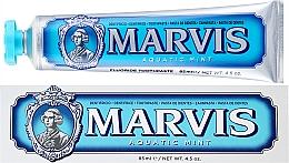 """Parfumuri și produse cosmetice Pastă de dinți cu xilitol """"Mentă"""" - Marvis Aquatic Mint + Xylitol"""