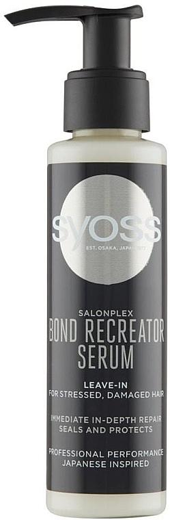Ser pentru păr deteriorat - Syoss Salon Plex Serum