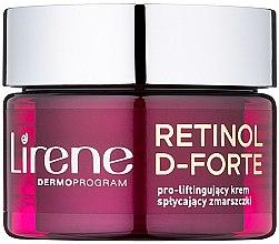 Parfumuri și produse cosmetice Cremă de zi antirid cu efect lifting - Lirene Retinol D-Forte Face Cream 50+
