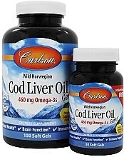 Parfumuri și produse cosmetice Set - Carlson Labs Cod Liver Oil Gems 460 mg