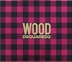 Parfumuri și produse cosmetice Dsquared2 Wood Pour Femme - Set (edt/50ml + b/lot/50ml + sh/gel/50ml)