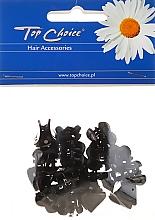 Parfumuri și produse cosmetice Agrafă de păr 25228, neagră - Top Choice