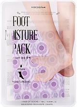 Parfumuri și produse cosmetice Mască hidratantă pentru picioare - Kocostar Foot Moisture Pack Purple