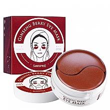 Parfumuri și produse cosmetice Patch-uri de hidrogel cu extract de ginseng - Shangpree Ginseng Berry Eye Mask