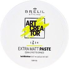 Parfumuri și produse cosmetice Pastă de păr, Cremă cu efect extra-mat - Brelil Art Creator Extra Matt Paste