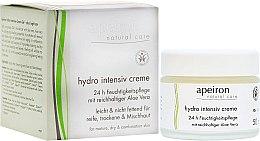 Parfumuri și produse cosmetice Cremă intensiv hidratantă pentru ten uscat - Apeiron Hydro Intensiv Cream 24h
