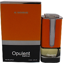 Parfumuri și produse cosmetice Al Haramain Opulent Saffron - Apă de parfum