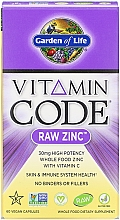 "Parfumuri și produse cosmetice Supliment alimentar ""Zinc cu Vitamina C"" - Garden of Life Vitamin Code Raw Zinc"
