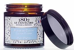 """Parfumuri și produse cosmetice Lumânare parfumată """"Floare de bumbac"""" - Le Chatelard 1802 Cotton Flower Scented Candle"""