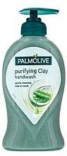 Parfumuri și produse cosmetice Săpun lichid - Palmolive Aloe Purifying Clay Handwash