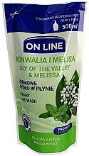 Parfumuri și produse cosmetice Săpun lichid - On Line Lilly of The Valley & Melissa Creamy Hand Wash (bloc rezervă)