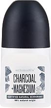 "Deodorant roll-on ""Cărbune"" - Schmidt's Carbon + Magnesium Deo Roll-On — Imagine N1"