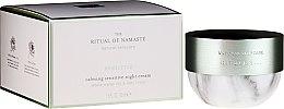 Parfumuri și produse cosmetice Cremă de noapte pentru față - Rituals The Ritual Of Namaste Calming Sensitive Night Cream