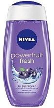 """Parfumuri și produse cosmetice Tratament-Gel de duș """"Fructe de padure proaspete"""" - Nivea Bath Care Vitamin Power Shower Gel"""