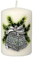 Parfumuri și produse cosmetice Lumânare aromată, 7x10 cm - Artman Christmas Bell Candle