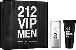 Parfumuri și produse cosmetice Carolina Herrera 212 VIP Men - Set (edt/100ml + sh/gel/100ml)