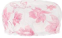 Духи, Парфюмерия, косметика Шапочка для душа, 9298, розовые цветы - Donegal Shower Cap