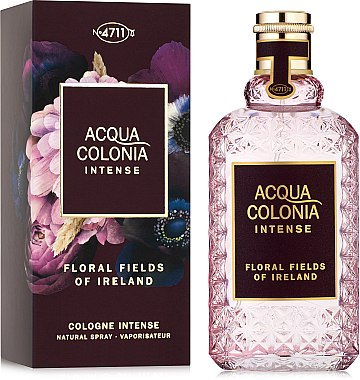Maurer & Wirtz 4711 Acqua Colonia Intense Floral Fields Of Ireland - Apă de colonie