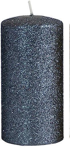 Lumânare decorativă, neagră 7x18cm - Artman Glamour — Imagine N1