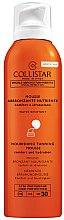 Parfumuri și produse cosmetice Spumă cu protecție solară pentru corp - Collistar Abbronzatura Senza Sole Mutriente SPF 30