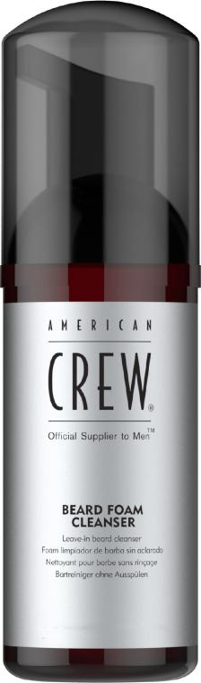 Spumă de curățare pentru barbă - American Crew Beard Foam Cleanser