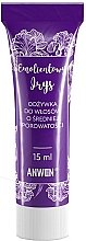 Parfumuri și produse cosmetice Balsam pentru păr poros - Anwen Emollient Iris Conditioner (mini)