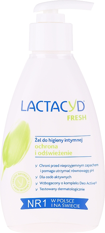 """Gel pentru igiena intimă """"Prospețime"""", cu dozator - Lactacyd Body Care (fără cutie)"""