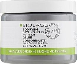 Parfumuri și produse cosmetice Gel pentru volumul părului - Biolage R.A.W. Bodifyng Styling Jelly