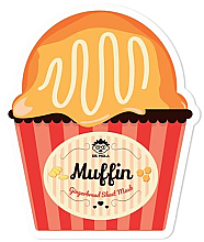 Parfumuri și produse cosmetice Mască din țesătură pentru față - Dr. Mola Muffin Gingerbread Sheet Mask